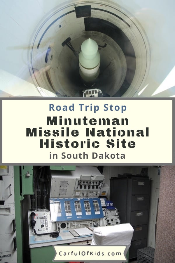 Learn about the Cold War between the U.S. and the Soviet Union 30 feet underground in an abandoned Minuteman Missile launch facility in South Dakota. Get all the tour details for this National Park Service Site in this guide. What to do in South Dakota | Decommissioned Missiles Sites | Military Tours #NationalParks #SouthDakota