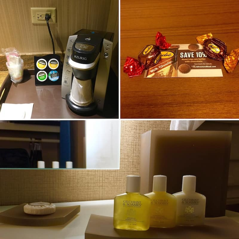 The amenities at the Chickasaw Retreat and Conference Center.