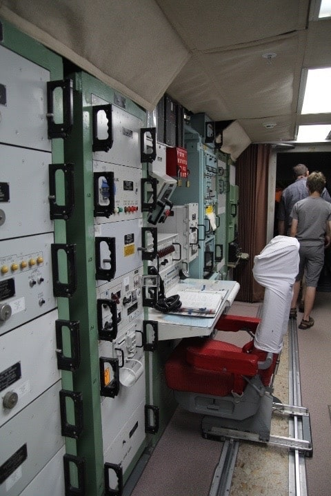 Exploring the unground Delta-One facility at the Minuteman Missile site in South Dakota.