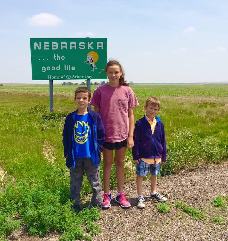 A road trip stop in Nebraska, Scotts Bluff National Monument.