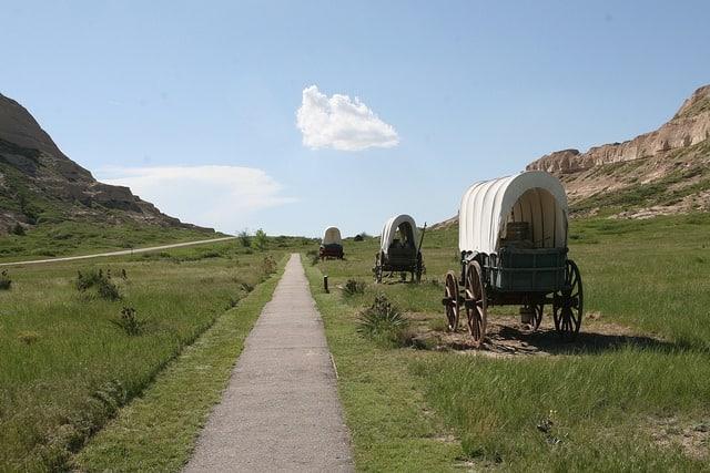 chuck wagon in Nebraska.