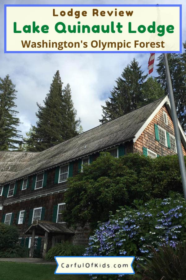Right outside of the Olympic National Park, Lake Quinault Lodge offers a quaint escape along the shore of Lake Quinault. Find an indoor pool, kayaking, canoing and SUP along with nightly camp fires. Get lodge amenities like in-room coffee and on-site restaurant. #NPS #NationalParks #Lodges #Washington #OlympicNationalPark Where to stay in Olympic National Park | National Park lodges in Pacific Northwest | Lodges in Washington