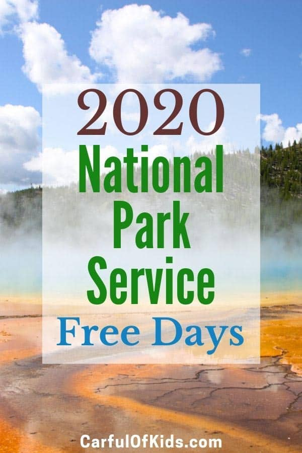 Explore a National Park for Free in 2020. Find the date for fee free days along with details on America the Beautiful Annual Passes along with passes for Military members, Senior Passes, Volunteer Passes and even the free pass for 10-year-olds. #NPS #Free National Park Service | Free days for National Parks | 4th Grader National Park Passes