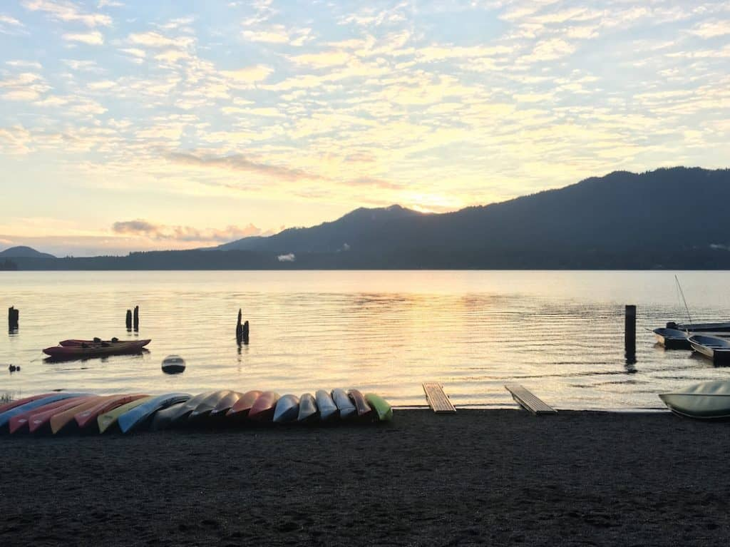 Enjoy the activities of Lake Quinault Lodge with kids.