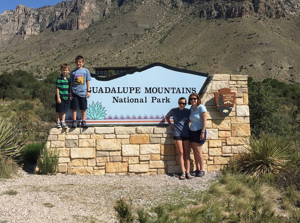 Discover the National Park Sites of Texas, like Guadalupe Mountains National Park.