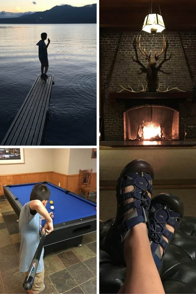 Lots of activities at Lake Quinault Lodge for kids.