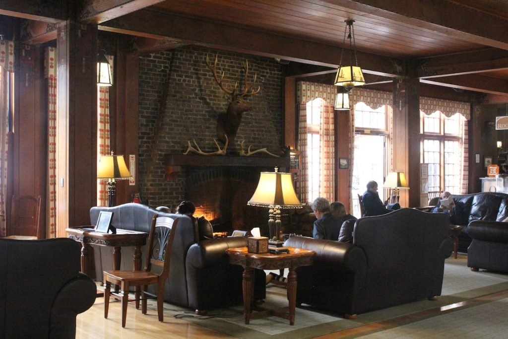 best places to stay in national parks with kids, Lake Quinault Lodge.