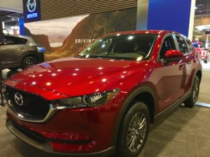 Mazda crossovers for Mom at the Houston Auto Show