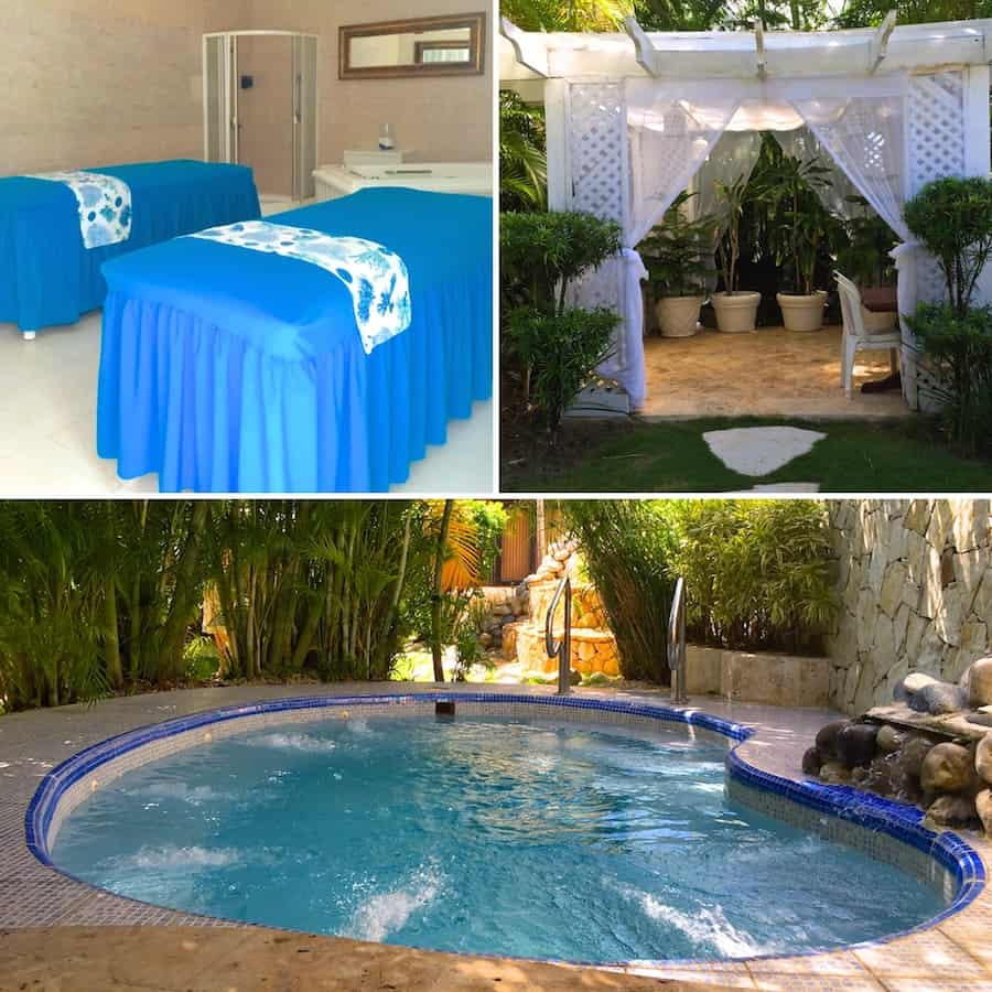 Enjoy the spa at Ocean Blue and Sand.