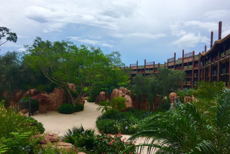 Animal Kingdom Lodge for families