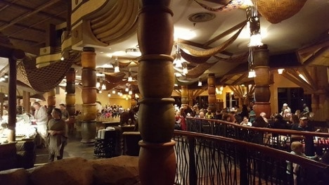 Enjoy the restaurants at Animal Kingdom Lodge Resort with kids.