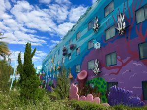 Staying at the Art of Animation at Disney is fun for kids.