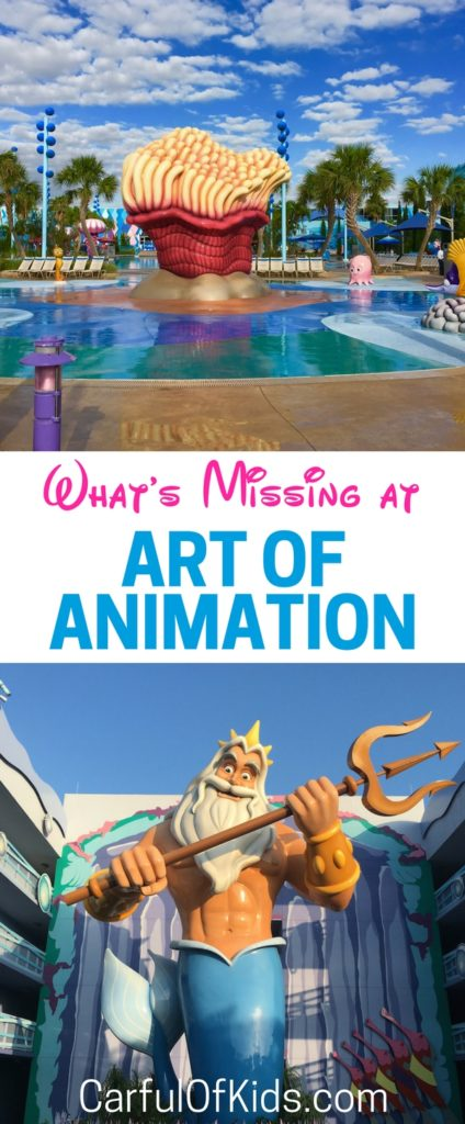 Thinking about staying at the Art of Animation Walt Disney World Resort? It's the nicest of the value resorts but is it nice enough? See whats' missing at the Art of Animation.