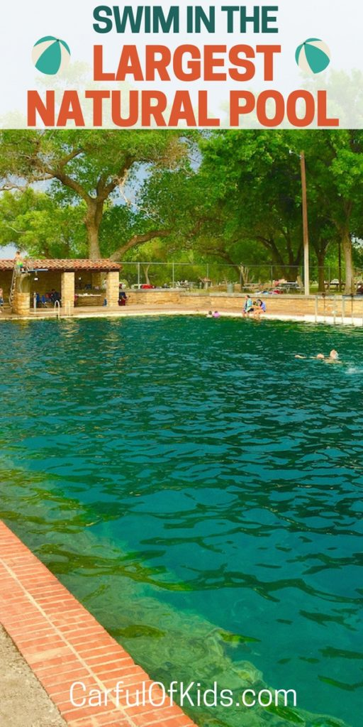 Swim in the world's largest spring fed swimming pool in West Texas. Got all info to plan a weekend getaway.