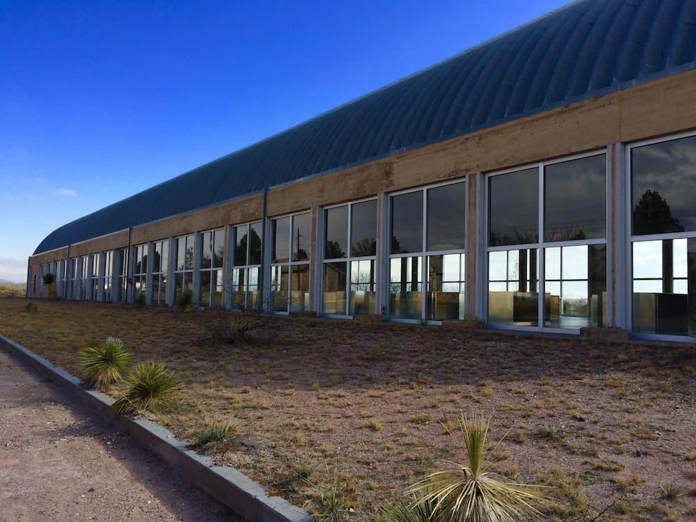 Explore West Texas, like Chinati Foundation in Marfa.