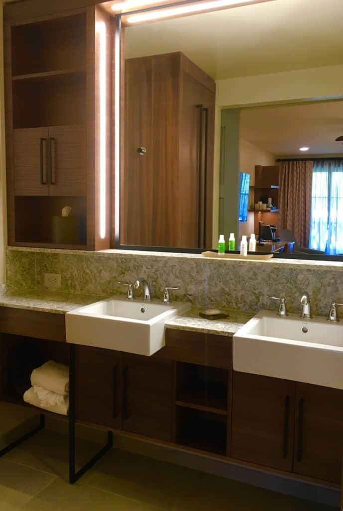Make the most of your disney dollars at coronado springs for Spring bathrooms