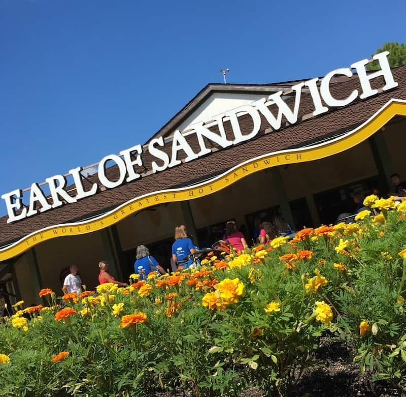 Stop by Earl of Sandwich in Disney Springs with kids.