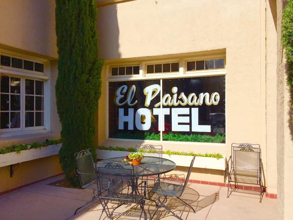 Explore West Texas in Marfa like the Paisano Hotel.