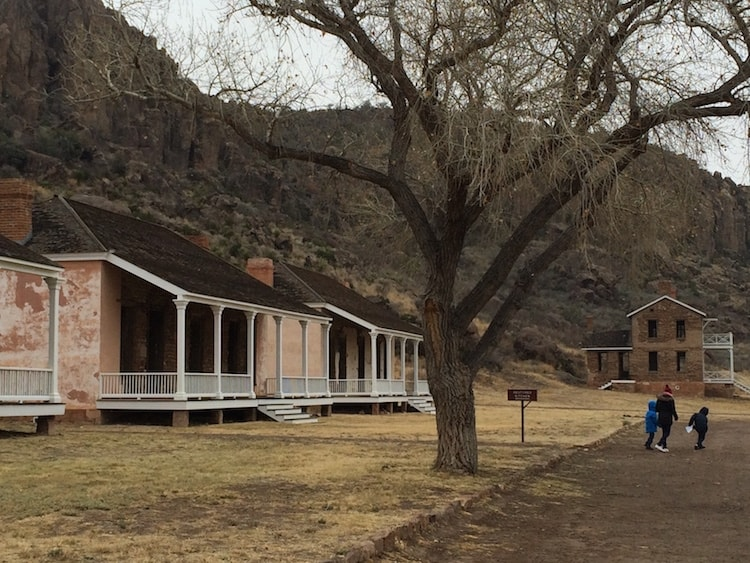 Explore West Texas at Fort Davis National Historic Site.