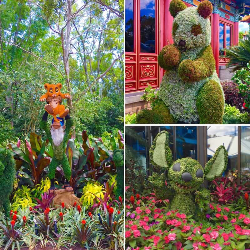 Epcot Flower and Garden Festival with kids