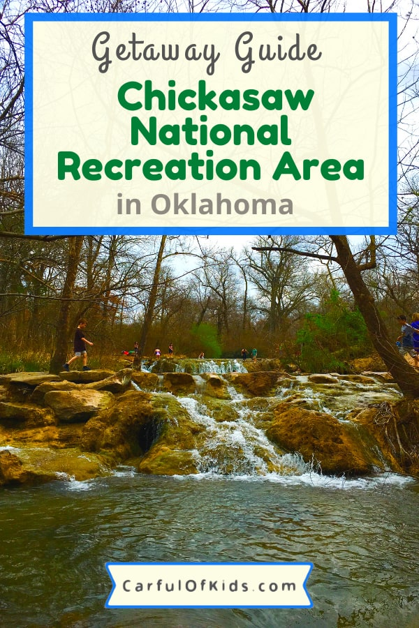 Pack up for a fun getaway to Southern Oklahoma at the Chickasaw National Recreation Area. Got all the fun on land and and in the water.