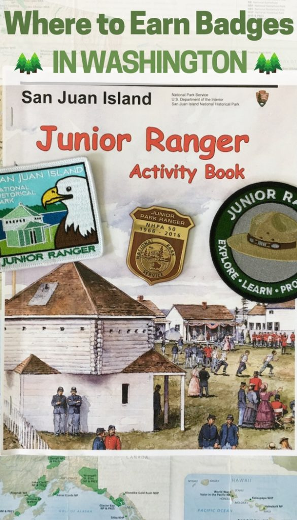 Load up the kids and head to Washington to earn Junior Ranger patches while exploring an island and learning some history.