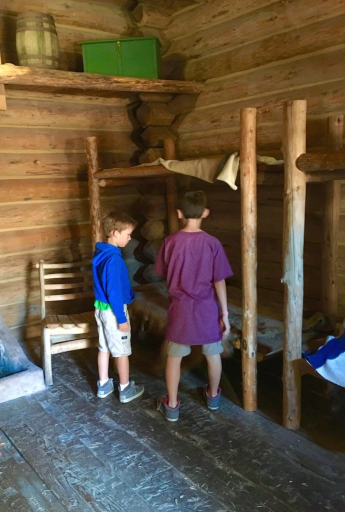 Explore Fort Clatsop with kids.