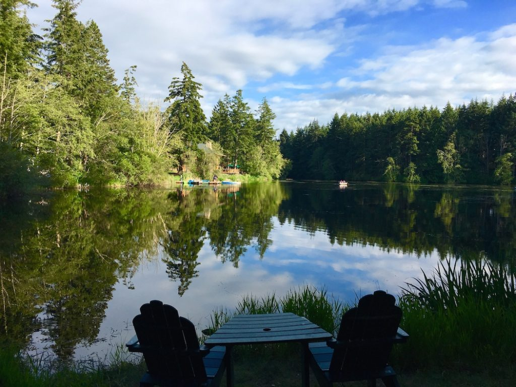 Lakedale Resort is one of the best places to camp with kids in Washington.