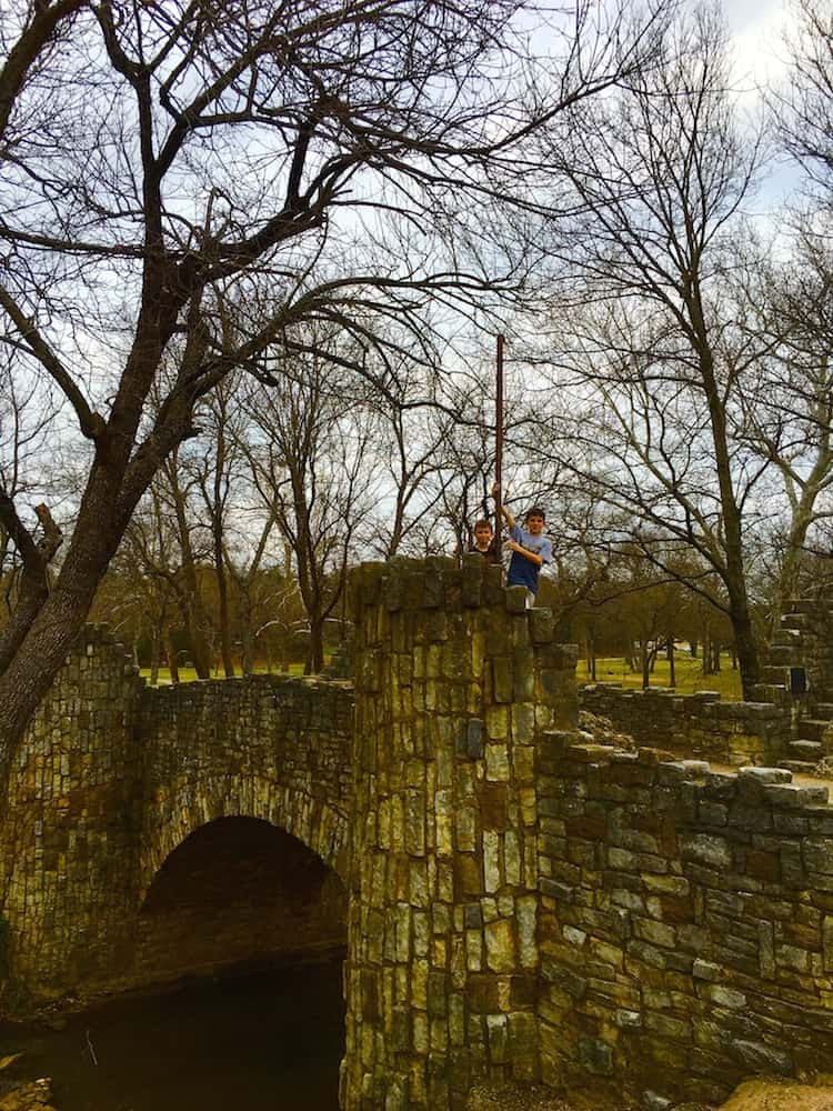 Explore the Lincoln Bridge as one of the things to do in Sulphur.