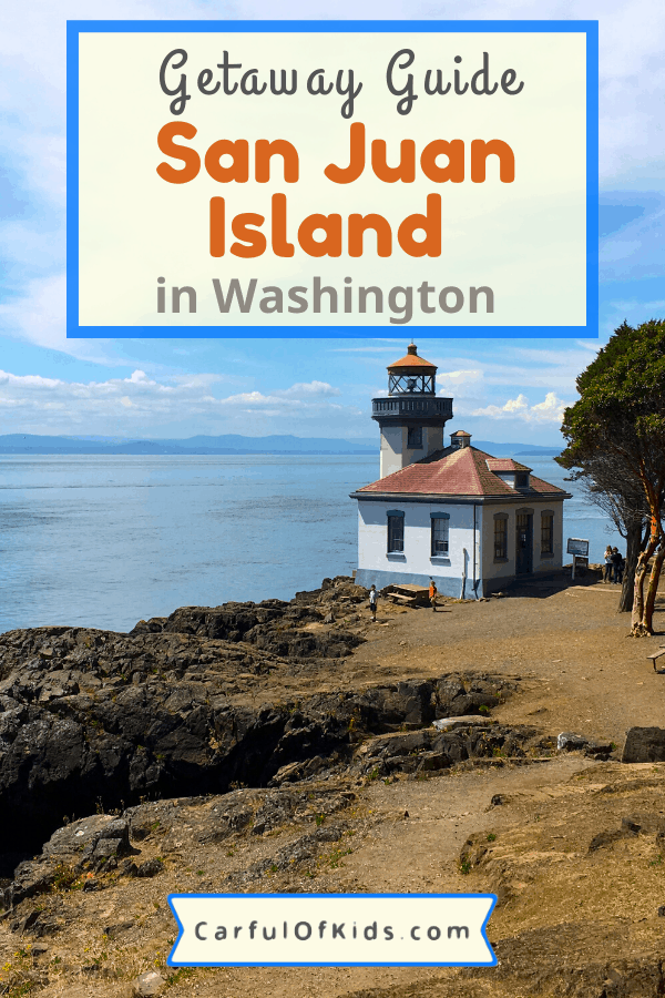 Located in Washington State's Strait of Juan de Fuca, San Juan Island offers a National Park Service site, a charming harbor along with a lighthouse. Get all the details on exploring this island. #Washington #SanJuanIsland What to do on San Juan Island | Washington Getaways