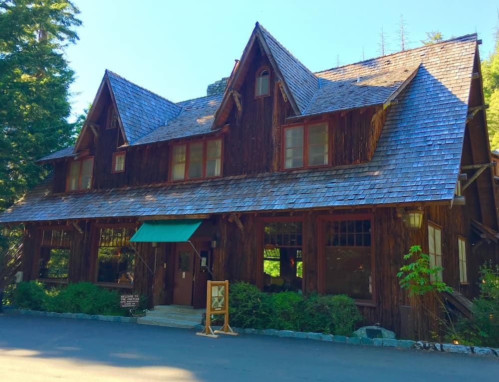 Spend the night at Oregon Caves Chateau with kids.