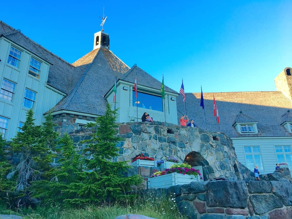 Explore Timberline Lodge when you visit Columbia River Gorge with kids.