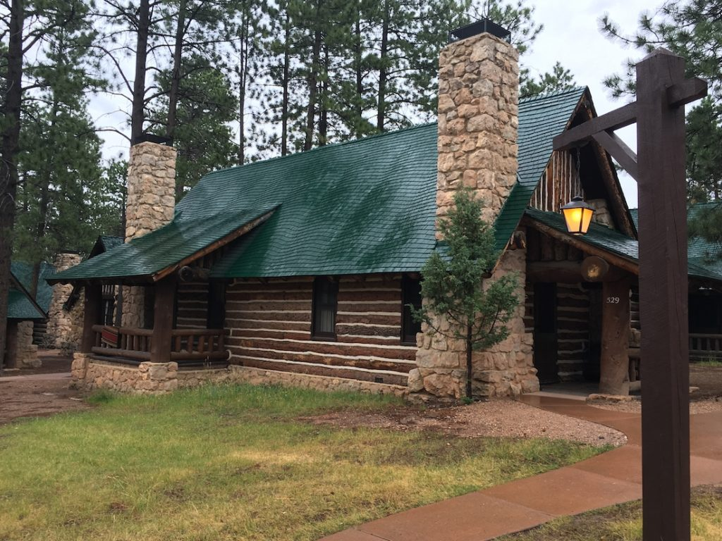 Stay in a historic cabin when you explore Bryce Canyon with kids.