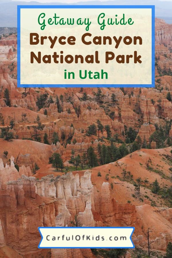 Load up and head to Utah's Bryce Canyon National Park, just down the road from Zion National Park. Use this guide to help plan your next trip with tips on where to stay, where to hike along with horseback riding. #NPS #NationalParks #Utah #MightyFive Where to go in Utah | The National Parks of Utah | Where to stay in Bryce Canyon | What do to in Bryce Canyon