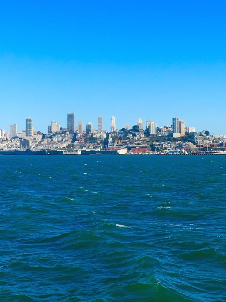 Take a ferry to Alcatraz with kids.