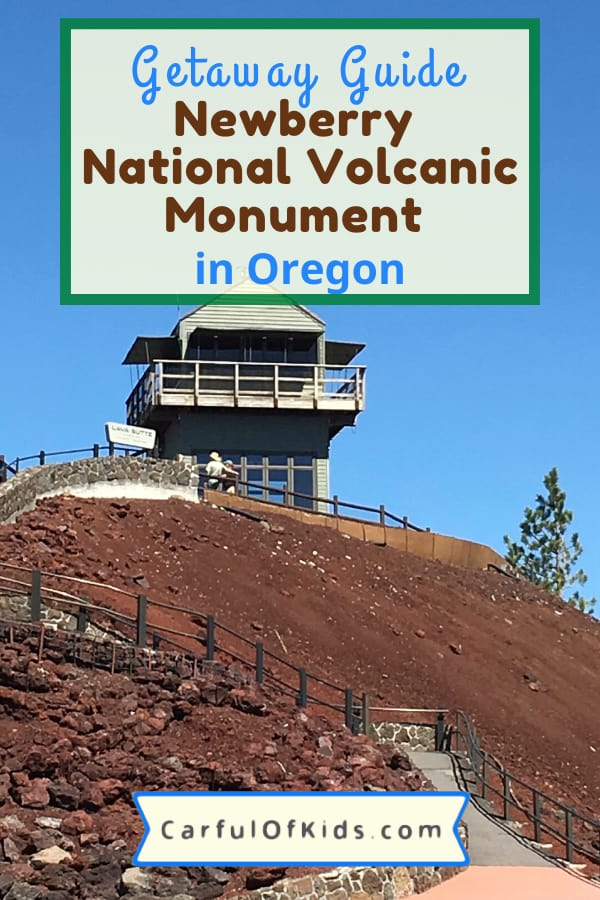 Find a volcano in Bend, Oregon. You can explore a cinder cone and a lava cave. Got the details for your trip also with places to stay. #Oregon #NewberryNationalVolcanicMonument #NPS #NationalParks Where to find a Volcano in Oregon | What to do in Bend Oregon