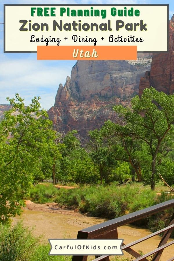 Located in Southern Utah, Zion National Park is a Top 10 National Park. Find hiking, horseback riding, scenic tours, along with Junior Ranger badges and ranger programs. Get all the details on what to do in Utah's Zion National Park. What to do in Zion National Park with kids | Where to Stay in Zion National Park | Camping in Zion National Park #NationalParks #Zion