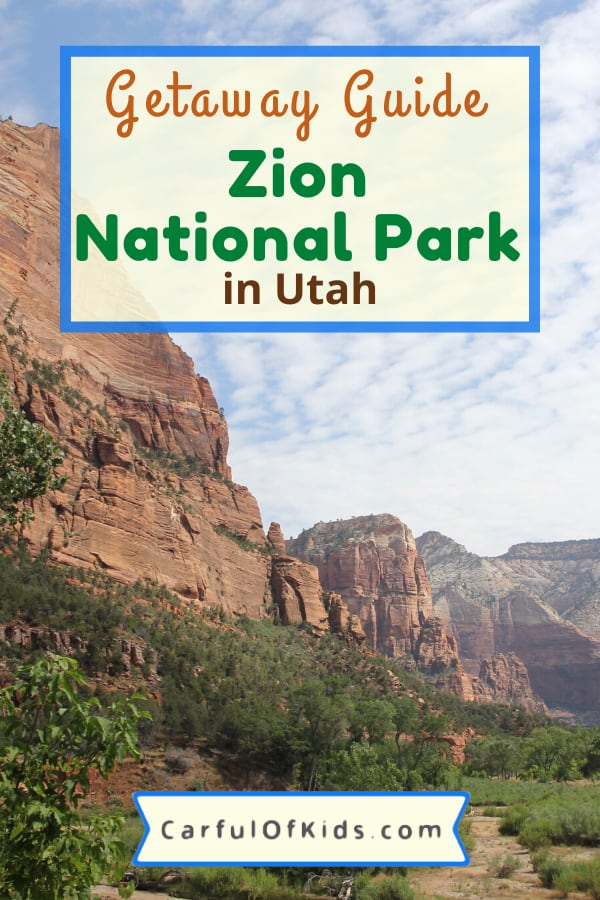 Zion National Park offers hours or days of fun. Find hiking, horseback riding, scenic tours, along with Junior Ranger badges and ranger programs. Get all the details on what to do in Utah's Zion National Park. #NationalPark #NPS #Zion #MightyFive What to do in Zion National Park with kids | Where to Stay in Zion National Park