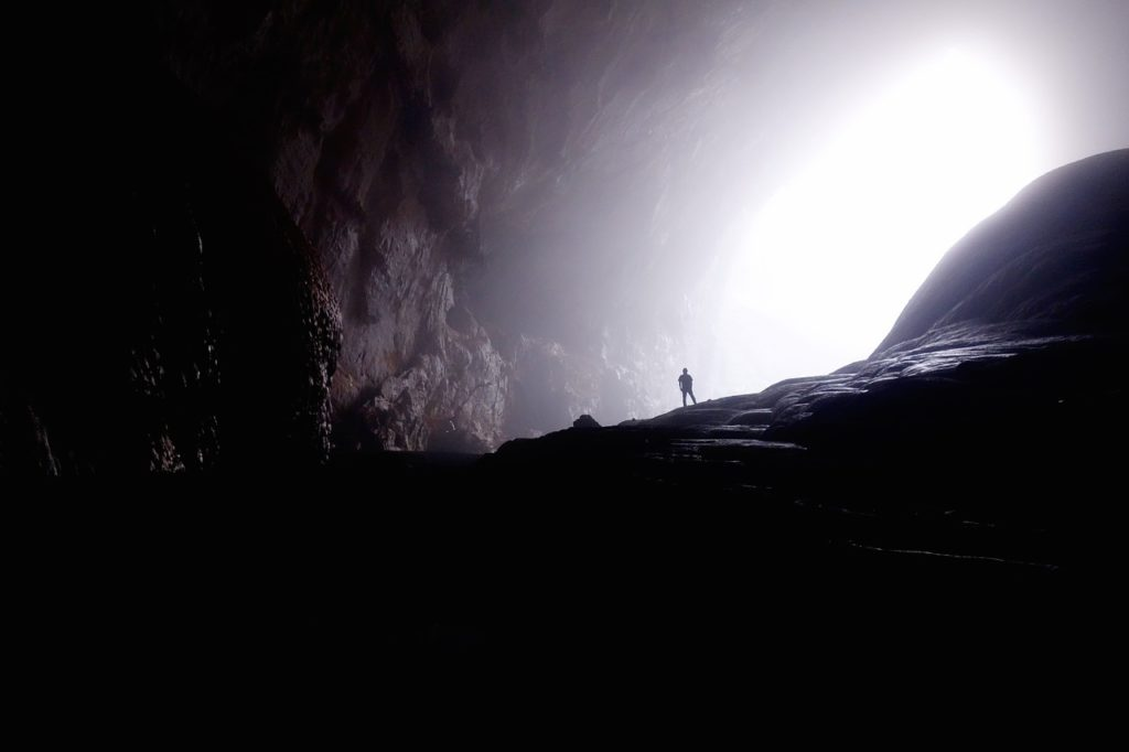 Take a Haunted cave tour.