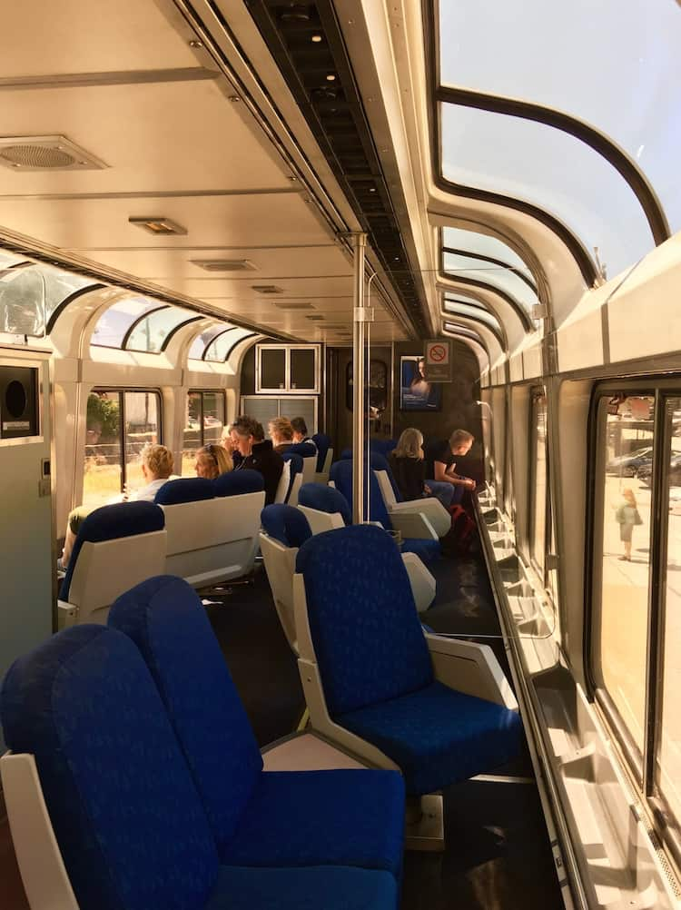 explore the train, tips for taking Amtrak in California.