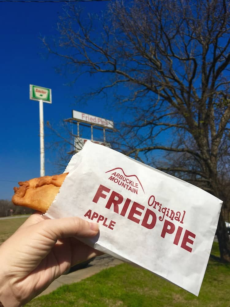 Stop for a fried pie what to do with kids in southern Oklahoma