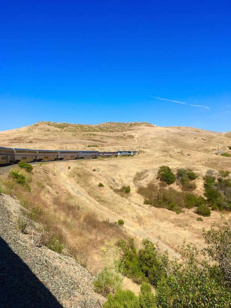 Tips of taking Amtrak in California.