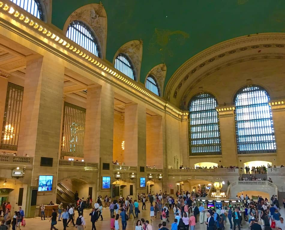Walk through Grand Central Terminal during your 4 day NYC itinerary.