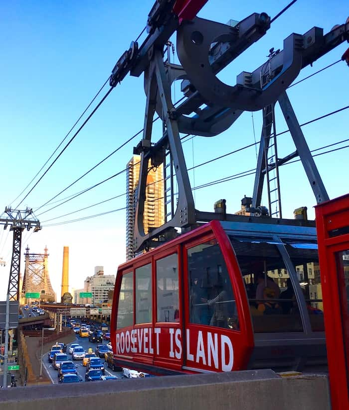 Take the Roosevelt Island Tram during your 4 day NYC itinerary.