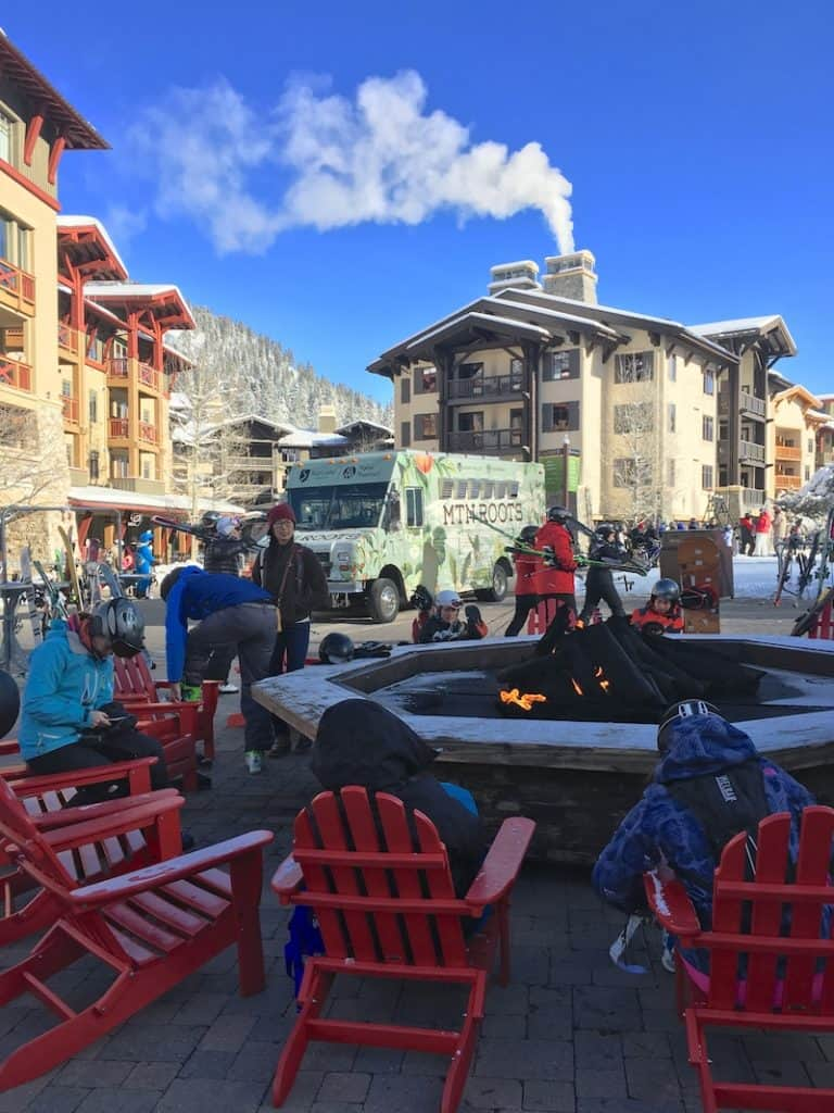 Squaw Valley Village for families