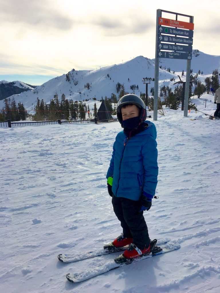 Ski Squaw Valley where to take kids skiing in Lake Tahoe