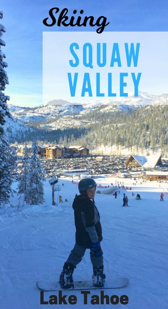 Sure the kids want to SKI Big but what's it really like to ski with kids at Lake Tahoe's Squaw Valley? Got all the details from lessons to terrain parks along with places to eat.