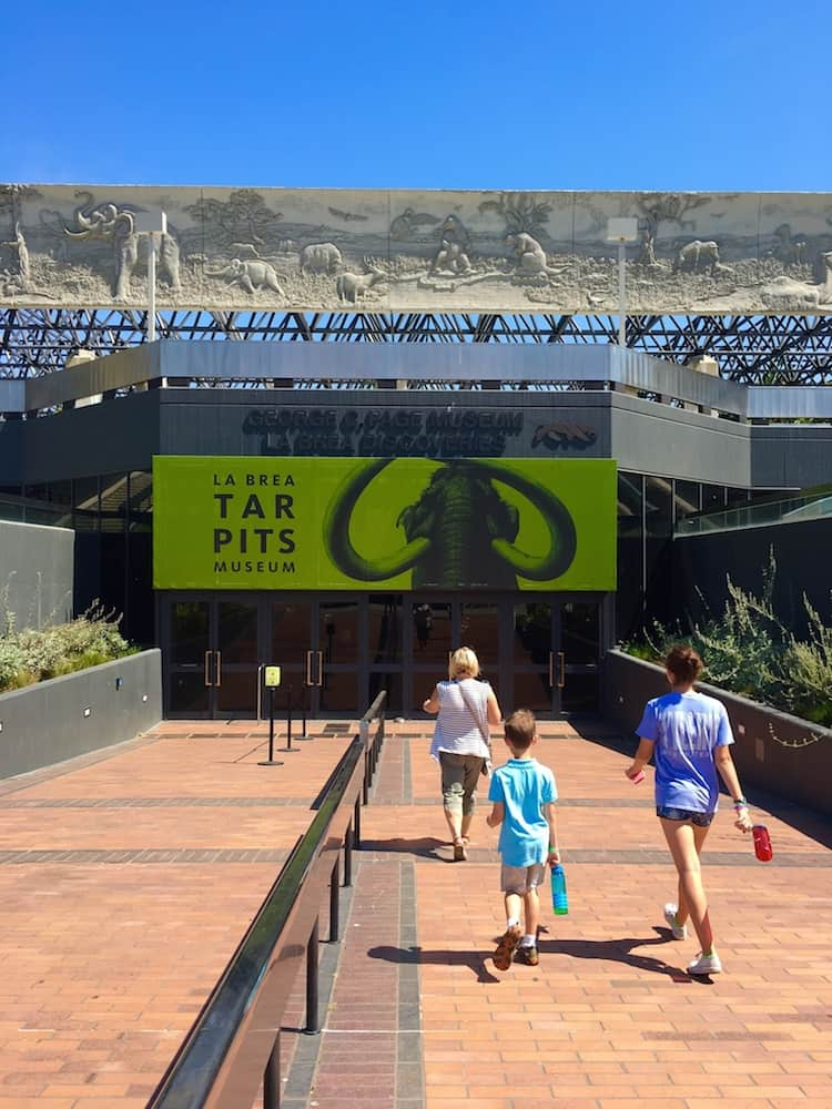 La Brea Tar Pits is where to go in LA with kids.