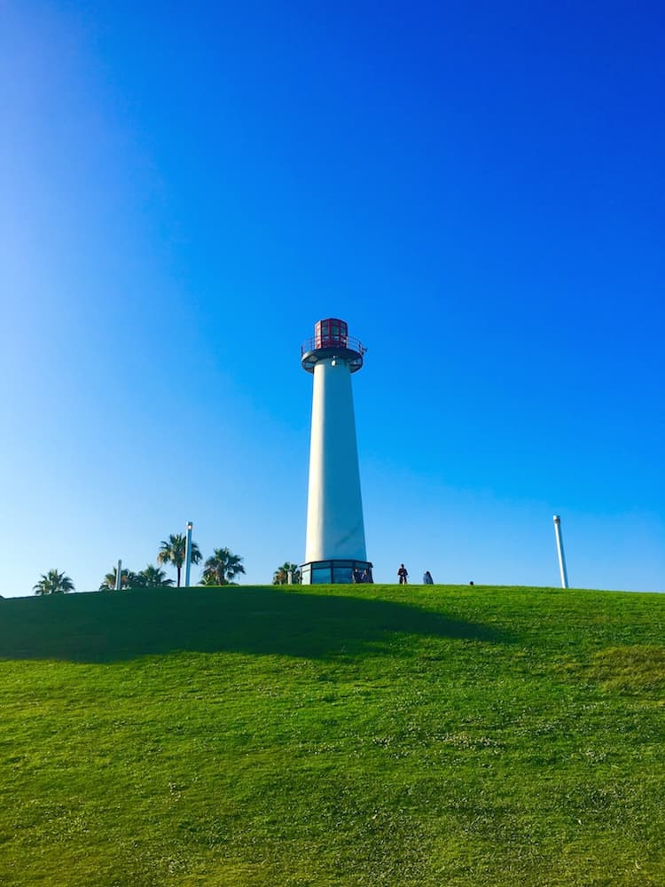 The Rainbow Lighthouse, what to do in Long Beach with kids.
