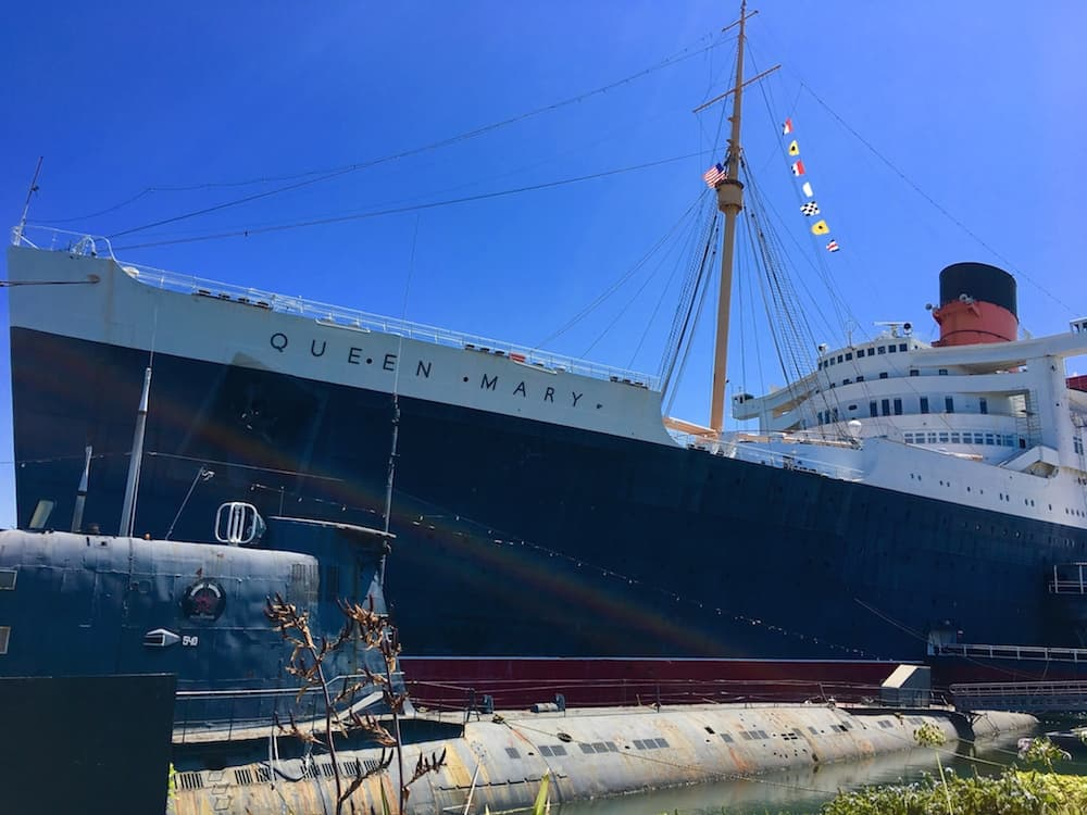 Tour the Queen Mary, what to do in Long Beach with kids.